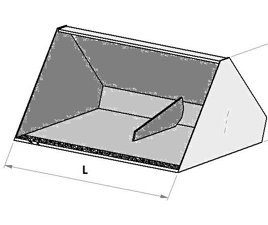 Hydraulická lopata na vysokozdvižný vozík